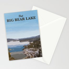 Visit Big Bear Lake Stationery Cards