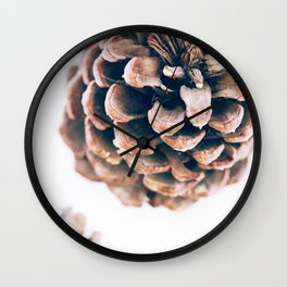 California Pine Cone Idyllwild Wall Clock