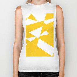 yellow diamond Biker Tank