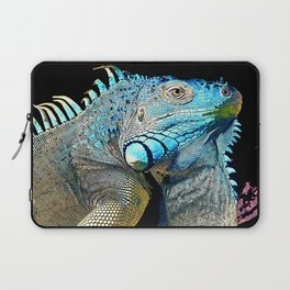 Green Iguana Laptop Sleeve