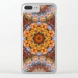 Grand Galactic Alignment Mandala Clear iPhone Case