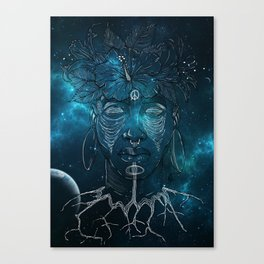 Connected. Canvas Print