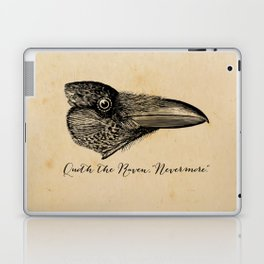 Nevermore - Edgar Allan Poe - Quoth the Raven Laptop & iPad Skin