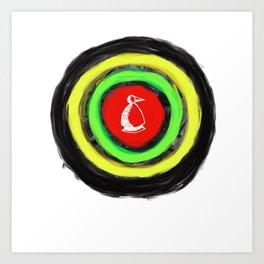 Metaphysical Penguin Certainly Art Print