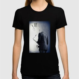 Saxophonist, Jazz Poster T-shirt