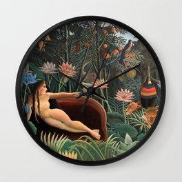 Henri Rousseau - The Dream Wall Clock