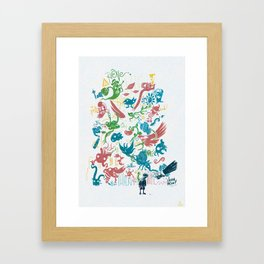 Expression Framed Art Print