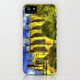 Eton College Chapel Vincent Van Gogh iPhone Case