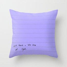 modern sentences, Kimberly Grey Throw Pillow