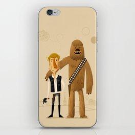 Han & Chewie iPhone Skin