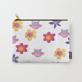 Lovely Owls Carry-All Pouch