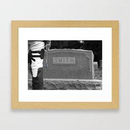 20150926 Levi, Goodbye Framed Art Print