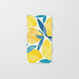 Lemon Tree / Abstract Fruit Art Hand & Bath Towel