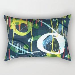 Abstract modern geometric shapes pattern Rectangular Pillow