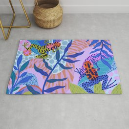 Poison Dart Frogs Rug