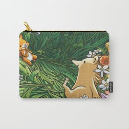 Roll on Flowers Carry-All Pouch