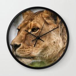 Josie the Lioness Wall Clock