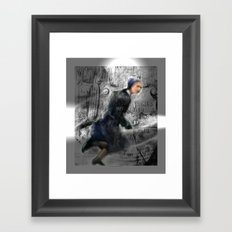 There Is No Escaping Tomorrow Framed Art Print