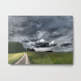 Path Through Meadow, Black Forest - Landscape Photography Metal Print