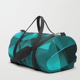 Minimal geometric background Duffle Bag