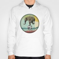 balance Hoodies featuring Balance by Vin Zzep