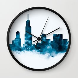 Chicago Skyline Wall Clock