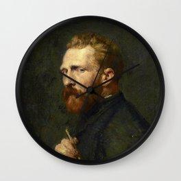 Vincent van Gogh by John Peter Russell (1886) Wall Clock