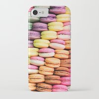 macaroons iPhone & iPod Cases featuring Macaroons by lescapricesdefilles
