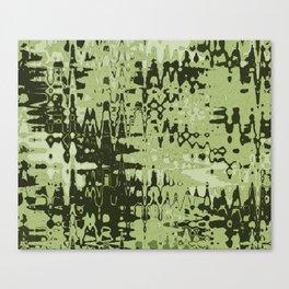 Splash Olive Canvas Print
