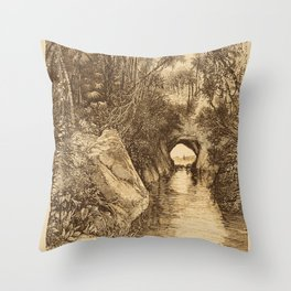 Into The Amazon Throw Pillow