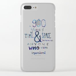 900 Years Clear iPhone Case