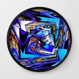 Quadrangle Wall Clock