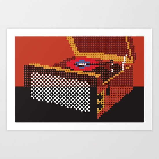 Stack-O-Matic Art Print