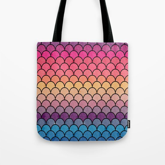 Watercolor Lovely Pattern CI Tote Bag