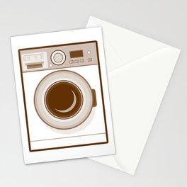 Retro Washing Machine Stationery Cards