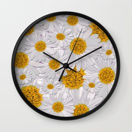 Daisy Love Wall Clock