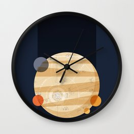 Except Europa Wall Clock