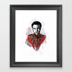 Donald for Spider-Man Framed Art Print