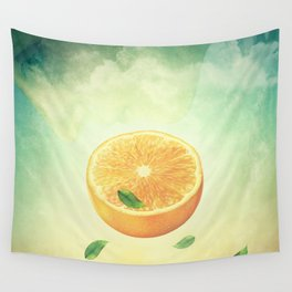 The Orange Conspiracy Wall Tapestry
