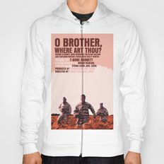 O Brother, Where Art Thou Movie Poster  Hoody