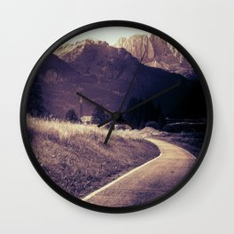 Fassa Valley Wall Clock