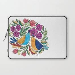 Birds & flore Laptop Sleeve