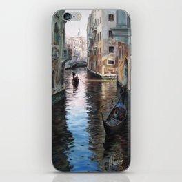 Venettian gondolas in Venise, Italy iPhone Skin