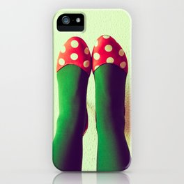 Zapatos de lunares 2 iPhone Case