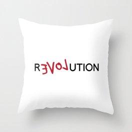 R(evol)ution Throw Pillow