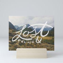 Lost & Found Mini Art Print