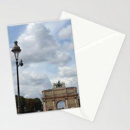 Arc du Carrousel Under the Sky Stationery Cards