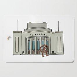 Volksbühne. Theater in East-Berlin Cutting Board