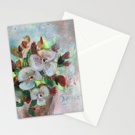 Begonia Blooms Stationery Cards