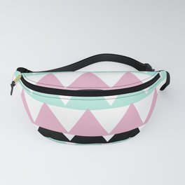 Triangle pink Fanny Pack